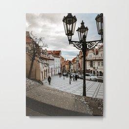 Prague Square Metal Print