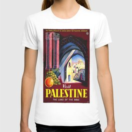 Vintage poster - Palestine T-shirt