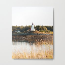 Mulholland Point Light Metal Print