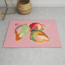 PERFECT PEARS Rug