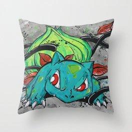 Bulba Bulba Throw Pillow