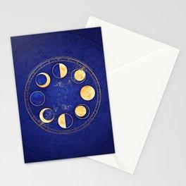 Celestial Atlas :: Lunar Phases Stationery Cards
