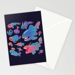 Devonian baby - dark Stationery Cards