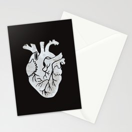 Anatomical Human Heart: Unusual Love Gift Stationery Cards