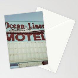 Ocean Liner Motel Stationery Cards