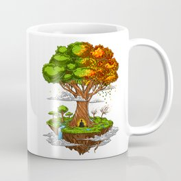 Tree Of Life Zen Meditation Coffee Mug
