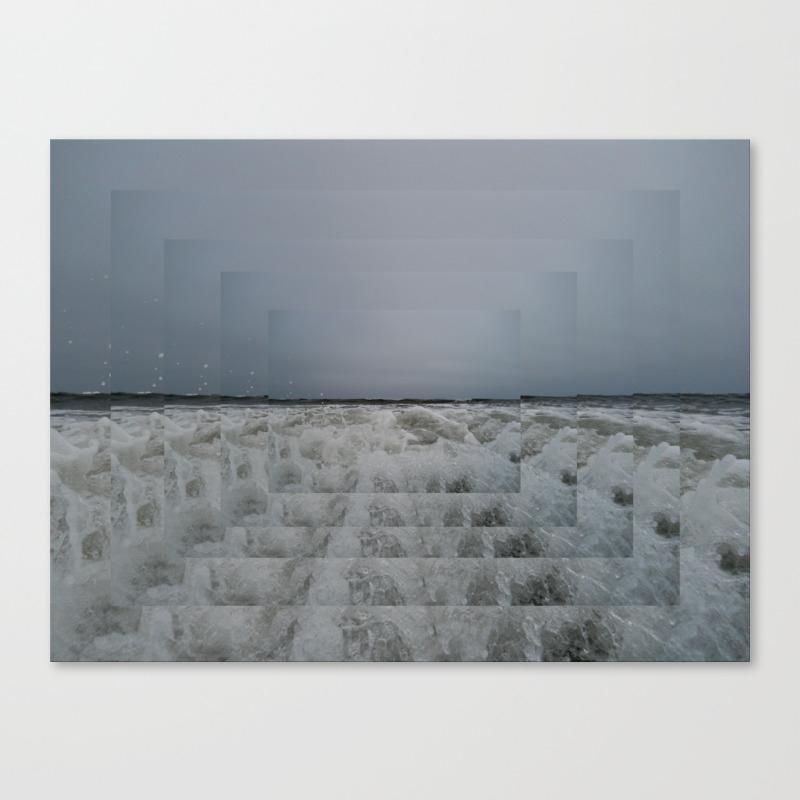 Step Into Liquid Canvas Print by Michelledunn CNV857861