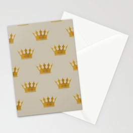 George Grey with Gold Crowns Stationery Cards