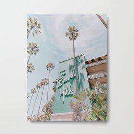 beverly hills / los angeles, california Metal Print