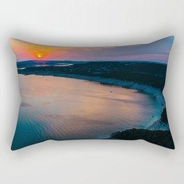 Sunset at Lake Travis Rectangular Pillow