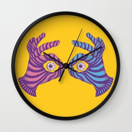 Thief Eyes Wall Clock