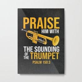 Trumpeter Gift Idea Metal Print