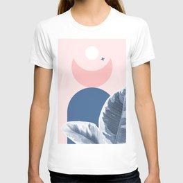 Mystic Balance Moon & Leaf T-shirt