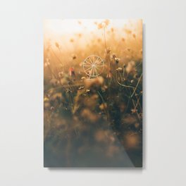 Tiny Travelling Carnival in My Garden Metal Print