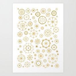 festive cycles Art Print