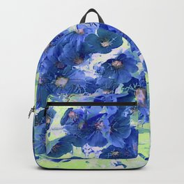 Blue Prim Roses Backpack