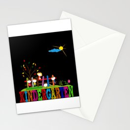 Kindergarten Picture Gift Idea Design Motif Stationery Cards