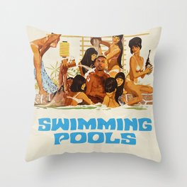 DRANK Throw Pillow