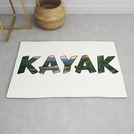 Kayak Lover Rug