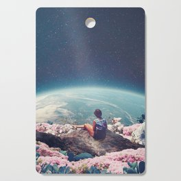 My World Blossomed when I Loved You Cutting Board