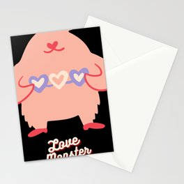 Love Monster Cute and Funny Valentine's Day Gift Stationery Cards