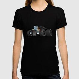 Hot Custom Black Street Rod Coupe T-shirt