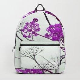 WILDFLOWERS in RED Backpack
