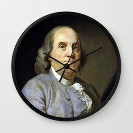 Benjamin Franklin Wall Clock