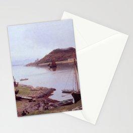 Hans Gude Painting -  Oban Bay Skottland 1889  | Reproduction | Norwegian Art Stationery Cards
