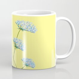 My Kentucky Wild Flowers, Queen Anne Lace and Flax Coffee Mug