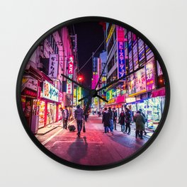 Tokyo 07 Wall Clock