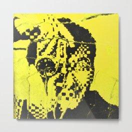 Pecker Portrait in yellow | John Waters Film Metal Print