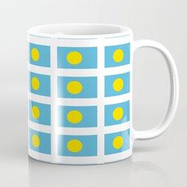 Flag of palau -Palauan, Bela, pelew,ngerulmud,Babeldao,pacific,palaos,angaur Coffee Mug