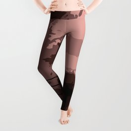 Hot chocolate labrador puppy Leggings
