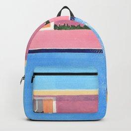 Splash! after David Hockney Backpack