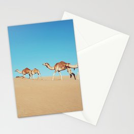 Camels of Oman Stationery Cards