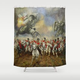 Waterloo Forever! Shower Curtain