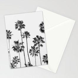 Black & White Palms 3 Stationery Cards
