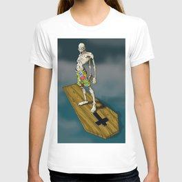 The Dead Kahuna (Surf Zombie) T-shirt