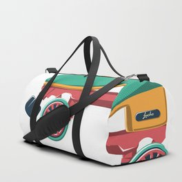 old school roller skate Duffle Bag