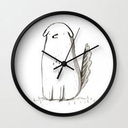 Sitting Dog Wall Clock