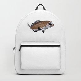 Grouper Whisperer Fish Backpack