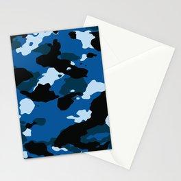 Blue Camo Stationery Cards