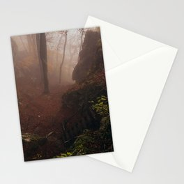 Steep stairs Stationery Cards