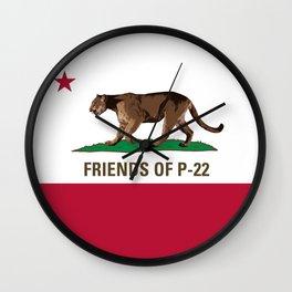 Friends of P-22 Wall Clock