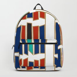 Rectangles motifs Backpack