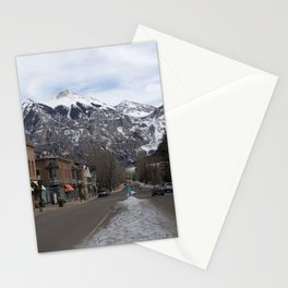 Downtown Telluride, Colorado Stationery Cards