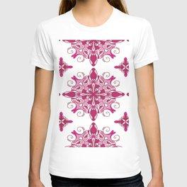 Rosy mandala glam T-shirt