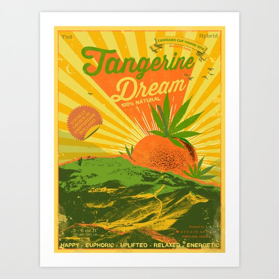 TANGERINE DREAM by iheartweedart