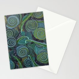 An Escargatoire of Snails Stationery Cards